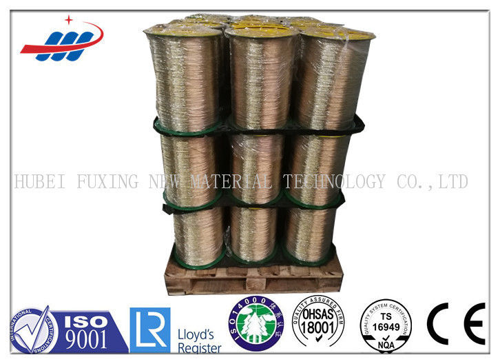 1x5x030HI 0530HI Tyre Steel Wire Brass / Copper Coated For Automobile Tire