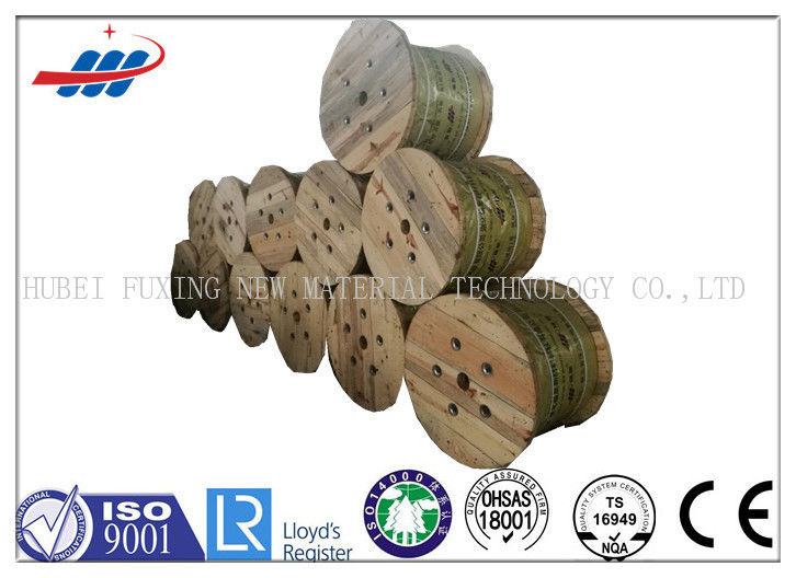 High Tensile Safety Elevator Wire Rope 6x19 Durable With 6 - 22mm Dia